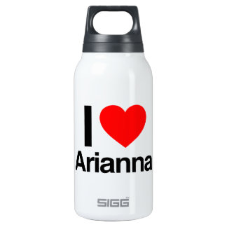 i love arianna 10 oz insulated SIGG thermos water bottle