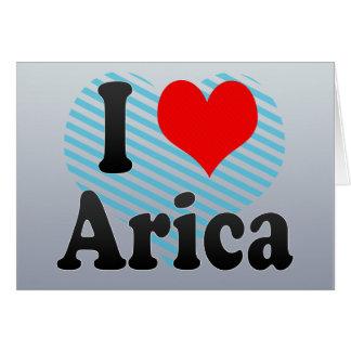 I Love Arica, Chile Card