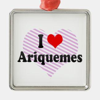 I Love Ariquemes, Brazil Ornament