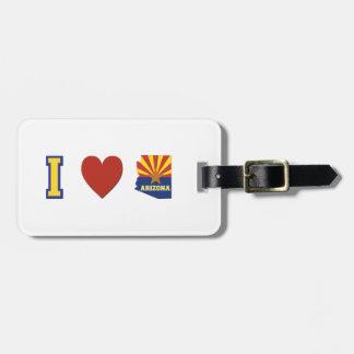 I Love Arizona Bag Tag