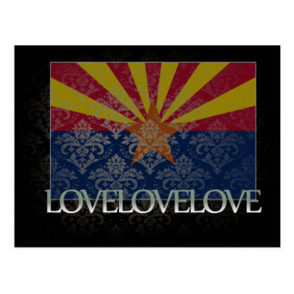 I love Arizona Cool Post Card