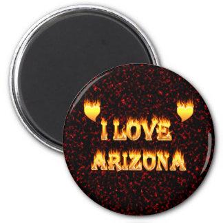 I love arizona fire and flames magnet