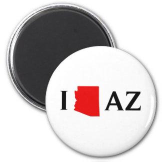 I Love Arizona - I Love AZ - Arizona State Magnet