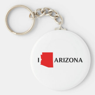 I Love Arizona - I Love AZ Keychain