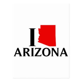 I Love Arizona - I Love AZ Postcard
