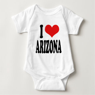 I Love Arizona Infant Creeper