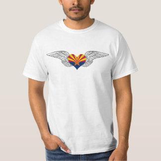 I Love Arizona -wings T-shirt