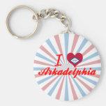 I Love Arkadelphia, Arkansas Key Chain