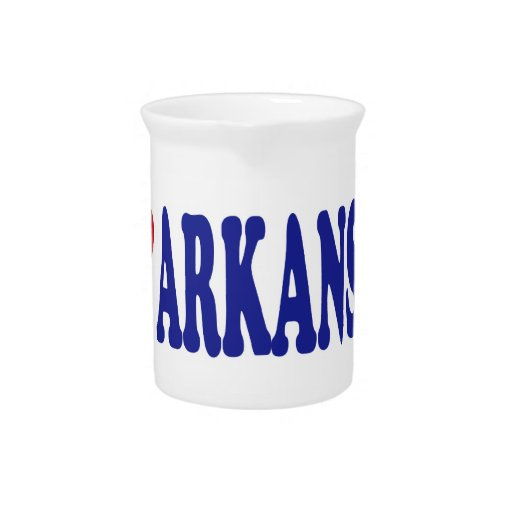 I Love Arkansas Beverage Pitchers