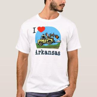 I Love Arkansas Country Taxi T-Shirt