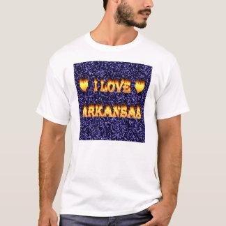I love arkansas fire and flames T-Shirt