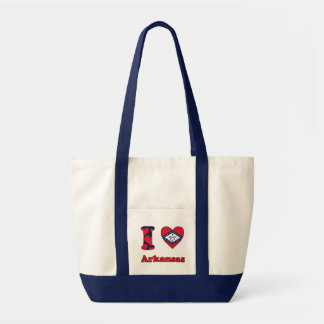 I love Arkansas Impulse Tote Bag