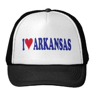 I Love Arkansas Mesh Hats
