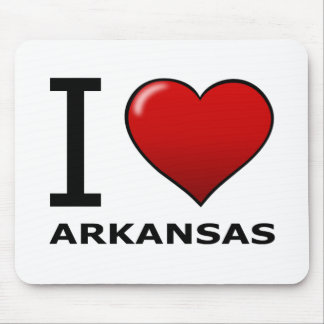 I LOVE ARKANSAS MOUSE PAD