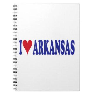 I Love Arkansas Notebook