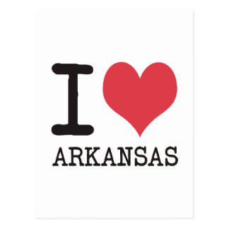 I Love Arkansas Products & Designs! Post Card