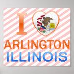 I Love Arlington, IL Print