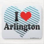 I Love Arlington Mouse Pad
