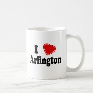 I Love Arlington Classic White Coffee Mug