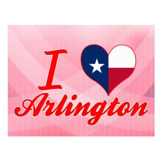 I Love Arlington, Texas Postcard