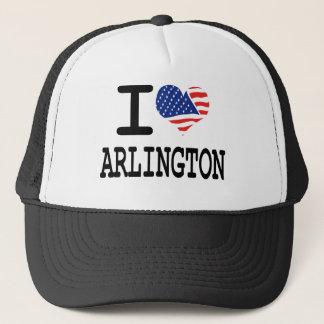 I love Arlington Trucker Hat