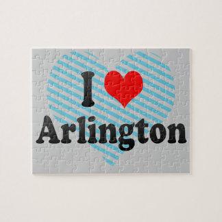 I Love Arlington, United States Puzzle
