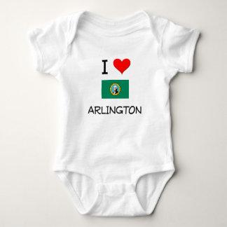 I Love Arlington Washington T-shirt