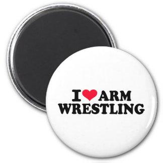 I love arm wrestling fridge magnets