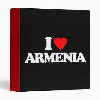 I LOVE ARMENIA BINDER