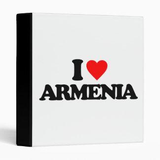 I LOVE ARMENIA BINDERS