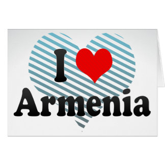 I Love Armenia, Colombia Greeting Cards