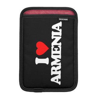 I LOVE ARMENIA iPad MINI SLEEVE