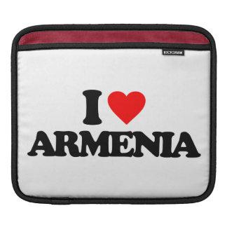 I LOVE ARMENIA iPad SLEEVES