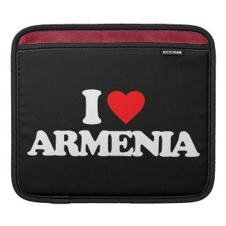 I LOVE ARMENIA SLEEVE FOR iPads
