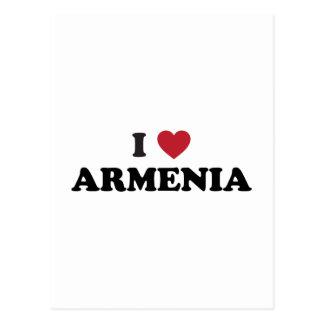 I Love Armenia Postcard