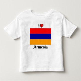 I Love Armenia Toddler T-shirt