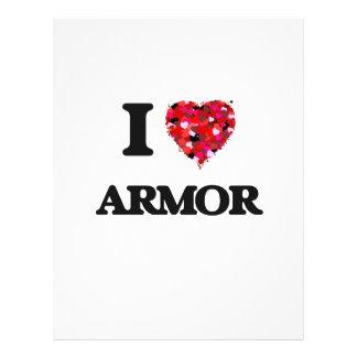 "I Love Armor 8.5"" X 11"" Flyer"
