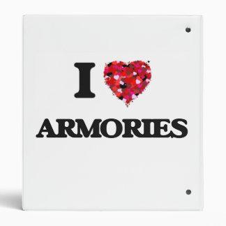 I Love Armories Binders