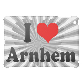 I Love Arnhem, Netherlands iPad Mini Covers