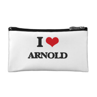 I Love Arnold Cosmetics Bags
