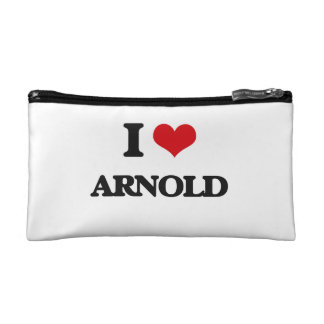 I Love Arnold Cosmetic Bags