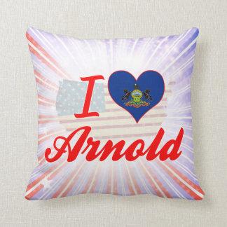 I Love Arnold, Pennsylvania Pillows