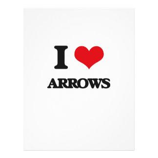 I Love Arrows Flyers