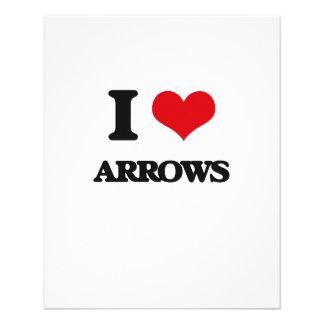 I Love Arrows Flyer
