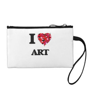 I Love Art Coin Wallets