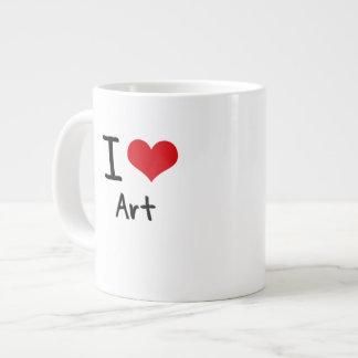 I love Art Jumbo Mug