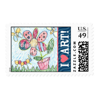 I Love Art Stamps  $23.15