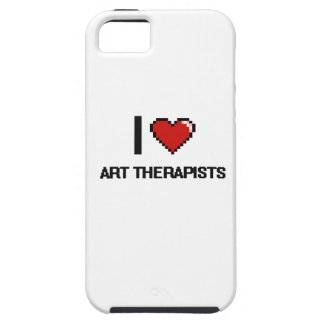 I love Art Therapists iPhone 5 Cover