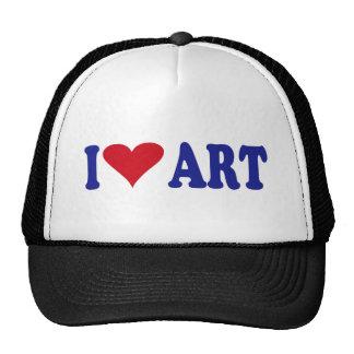 I Love Art Trucker Hat