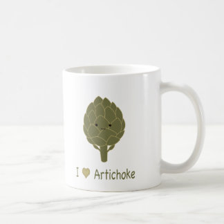 I love artichoke coffee mug